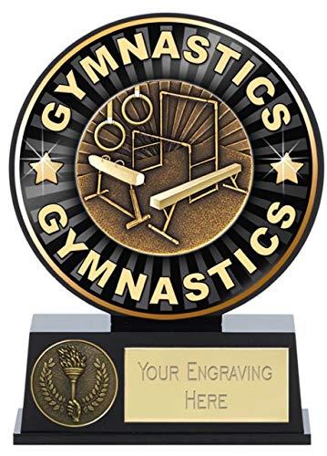Emblems-Gifts Vibe - Trofeo de Gimnasia (12 cm)