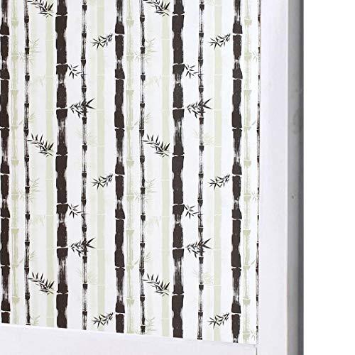 Tiowea Raamfolie voor de badkamer, glas, sticker, voor thuis, privacy, decoratie, afneembare afdekking, raamfolie Glasfolie. M Glasfolie 3