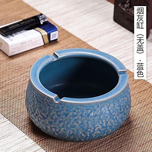 Cenicero Cobre De Café Oficina Comercial De La Oficina Anterior Antilino Retro Anti-Vuelo Cenytray-Azul - Sin Cubierta