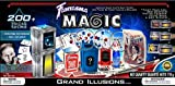 Fantasma Complete Grand Illusions Magic Set - Over 200+ Tricks Kit with Instructional Video & Fully-Illustrated Manual - Learn Fun Magic Tricks - Adults & Children 7+