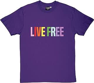 Live Free Men's T-Shirt