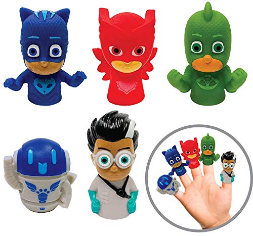 PJ Masks 5 Piece Finger Puppet Set