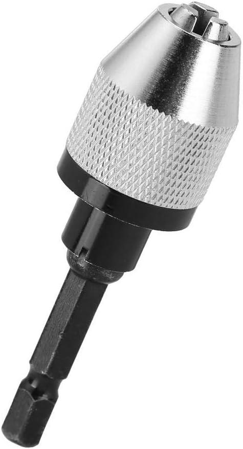 Schnellwechselkonverter pneumatisches Bohrfutter 6,5 mm Sechskant-Schaft-Elektro-Schraubendreher-Bohrfutter-Adapter H01334