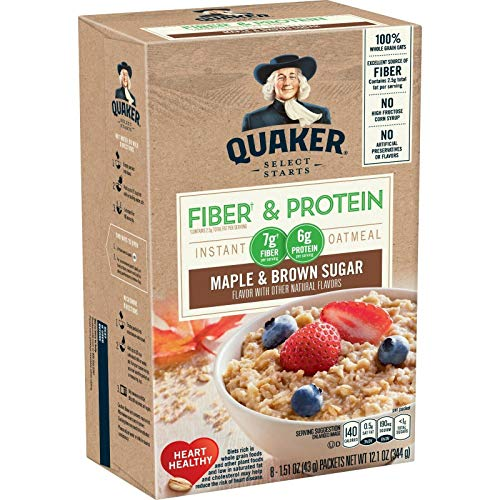 Top 10 quaker high protein oatmeal for 2021