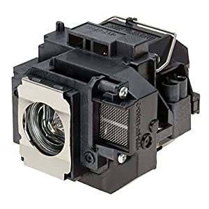 HFY marbull E58 Replacement Projector Lamp w/Housing Compatible with EPSON EB-S10 EB-S9 EB-S92 EB-W10 EB-W9 EB-X10 EB-X9 EB-X92 / EX3200 / EX5200 / EX7200 / PowerLite 1220 / PowerLite 1260