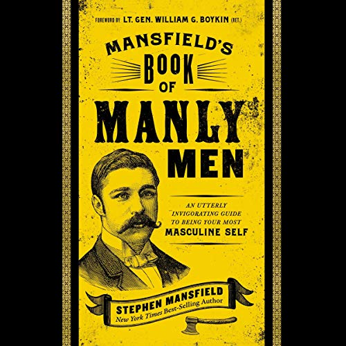 Mansfield's Book of Manly Men audiobook cover art