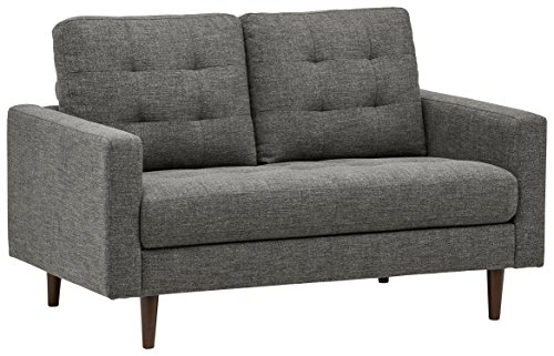 Our #5 Pick is the Rivet Cove Modern Tufted Loveseat