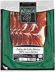Azuaga - Lonchas De Paleta De Cebo Ibérica Envasadas Al Vacío 100 g