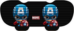 ABYED Captain America Rear Car Seat Covers Protector Universal Fit Used Four Seasons