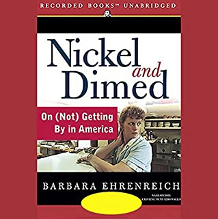 Nickel and Dimed audiobook cover art