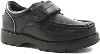 Mens Black Leather Macadam Keane comfortable lace up shoes UK 7-12