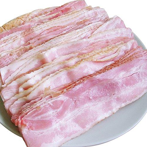 [スターゼン] ベーコン 訳あり 業務用 アウトレット 切り落とし わけあり スライス 大容量 送料無料 冷蔵 人気 豚肉 豚ばら肉 美味しい (2kg)