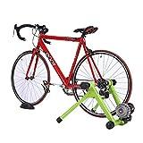 Hammer Indoor Bike Trainer, Marco plataforma de formación a caballo + Dispositivo adaptador de velocidad, soporte plegable de bicicleta magnética, for trabajo pesado estable soporte de bicicleta estac