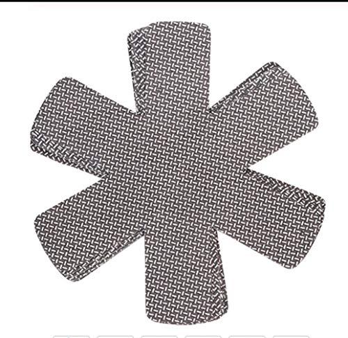 3 Teile/Los Pan Protectors Topflappen Tischset Tasse Untersetzer Platte Matte Hitzebeständiges Vliestuch Hauptdekorationen (Color : B)