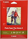 CanonInk 1432C002 Photo Paper Plus Glossy II 5' x 7' 20 Sheets