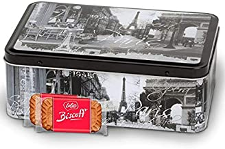 Biscoff Cookies in a Parisian Tin
