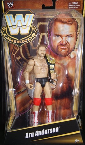 WWE WWF Jakks Classic Superstars Series 12 Arn Anderson Brain-Busters Wrestling Action Figure with Chair