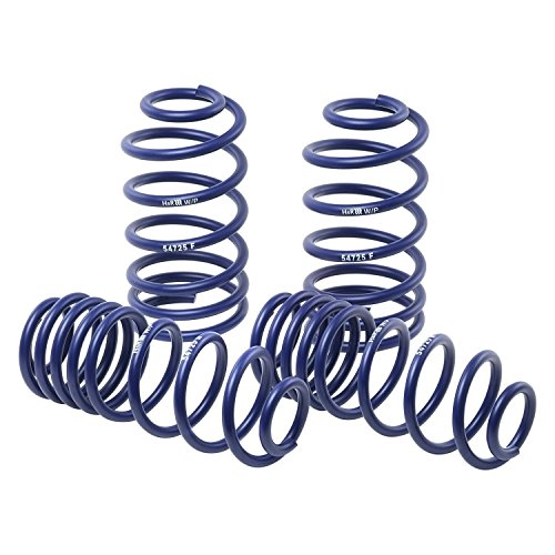 H&R 29749-1 - 1.4' x 1.3' Sport Front and Rear Lowering Coil Springs