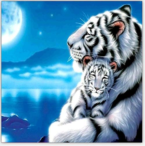 XYHJL 5D diy pintura diamante Tigre del sur de China mosaicos Rhinestone kit Punto de Cruz Artesanía Cristal bordado DIY número arte 40X50CM