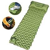 OTHWAY Camping Sleeping Pad Self Inflating Camping mat Foot Press Inflatable Pad Air