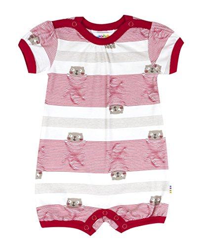 Joha - Joueur une seule pièce Salopette bébé fille Cosy en rouge - rouge, 80 (9-12 mois)