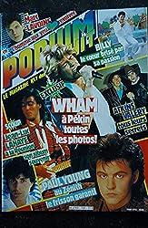 PODIUM HIT 159 MAI 1985 WHAM MARC LAVOINE JEAN-LUC LAHAYE PAUL YOUNG + POSTERS MADONNA ADJANI