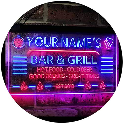 ADVPRO Personalized Your Name Custom Bar & Grill Established Year...