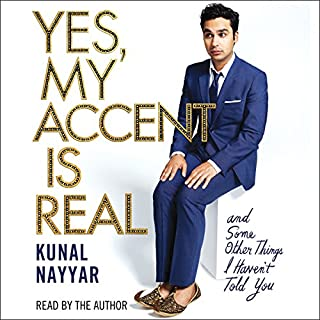 Yes, My Accent Is Real audiobook cover art