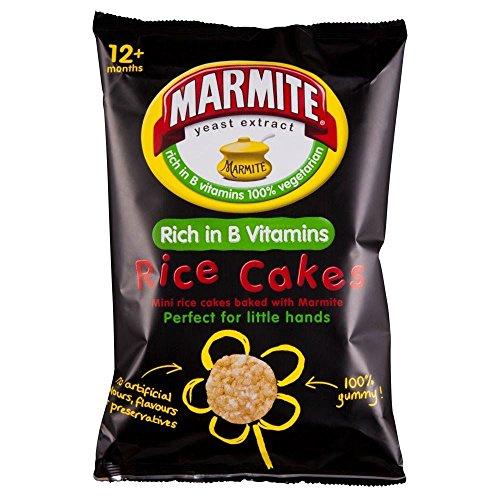 Marmite Toddler Reiskuchen-Tasche (40 g) - Packung mit 2