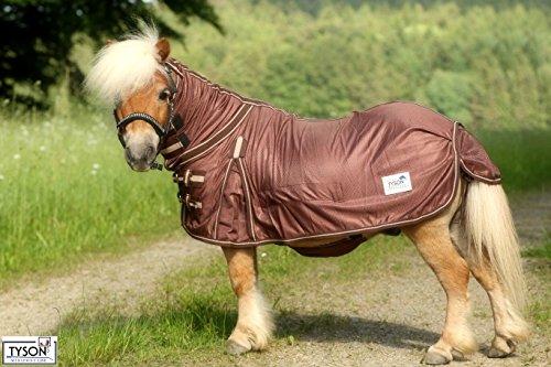 Ekzemerdecke Ekzemer Decke Fliegendecke mit Halsteil Minisehtty Shetty Isi Pony 60 65 70 75 80 85 90 95 100 115 125 135 145 Tysons (65)