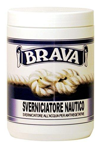 Brava SVN7 Sverniciatore Nautico, Verde, 750 ml