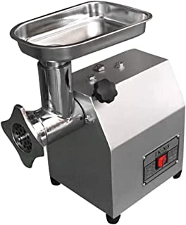 電動ミンサー 挽肉機 ミートチョッパー 400W 処理能力:1kg/分 ステンレス製 2つカッターナイフと2つカットプレート