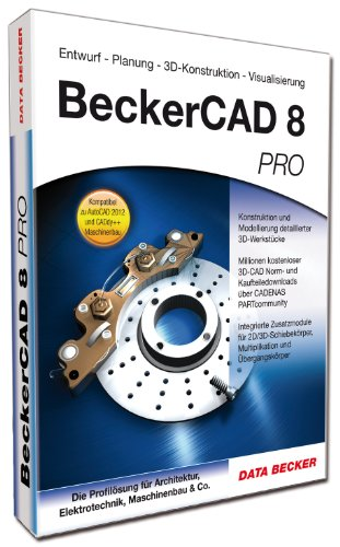Becker CAD 8 Pro [import allemand]