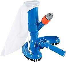 Keyohome - Aspirador de piscina, mini aspirador con cabezal de cepillo/asa/conector rápido/bolsa de malla/entrada de agua/aspirador para spa/estanque/piscina