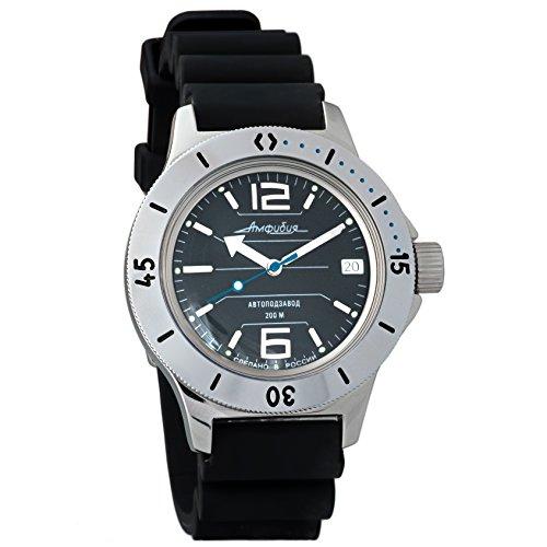 Vostok Amphibian 2415 120695 orologio meccanico, stile russo militare