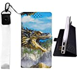 Lovewlb Case for Zte Blade L7a Cover Flip PU Leather +