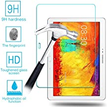 Case Army Galaxy Note 10.1 | Note SM-P600 [2014 Edition] Tempered Glass [Tough] Premium Ballistic Glass for Samsung Galaxy Note 10.1 SM-P600 Screen Protector 99% HD Clarity & Touchscreen Accuracy