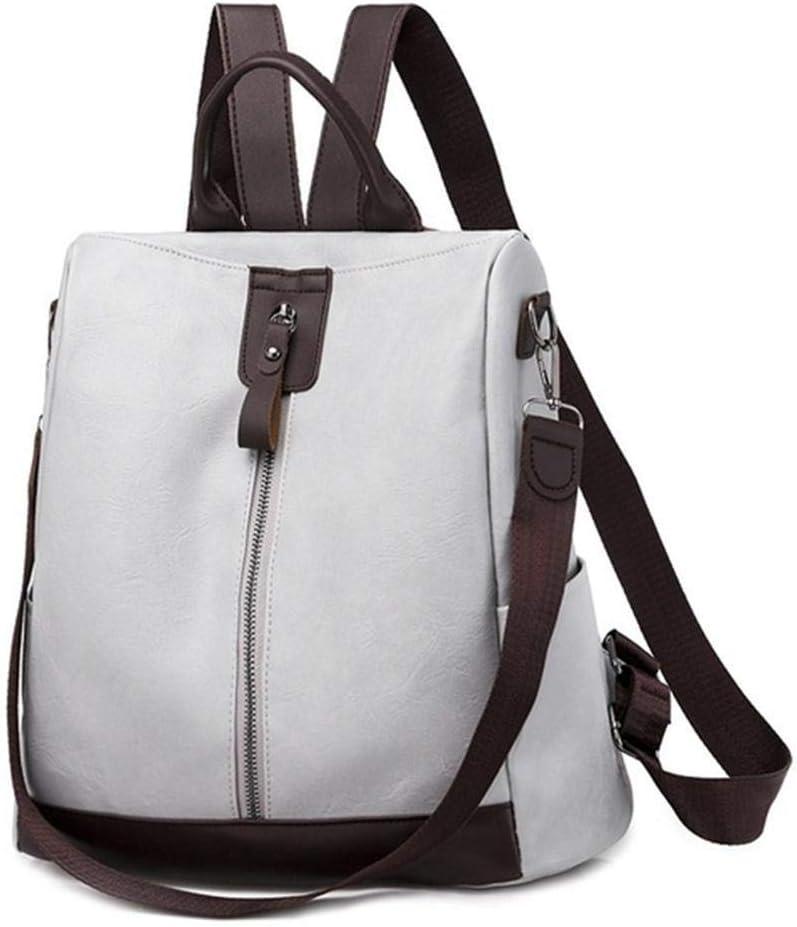 LEOCEE Female Backpack Multifunction Girls Leather School Women Shoulder Bag Travel Back Pack Fashion Women Backpack