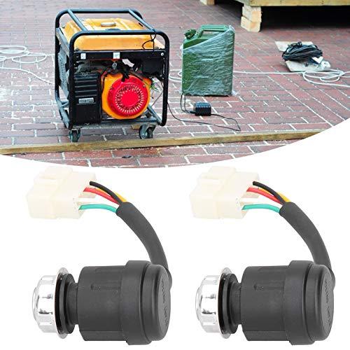 Interruptor de Encendido, Buena Resistencia al Desgaste Interruptor de Encendido para 186F / 186FA, Interruptor de Encendido de 5 Pines, Resistente a la corrosión para la Agricultura con