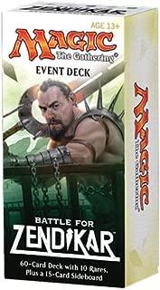 Magic the Gathering (MTG) Battle for Zendikar - Event Deck (with 10 Rares)