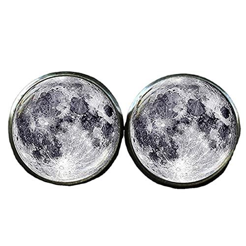 Gemelos de luna llena, gemelos espaciales, gemelos galaxia, gemelos lunares, gemelos lunares, gemelos planeta, gemelos cúpula de cristal