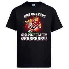 Camiseta Athletic Eres un león Bilbao