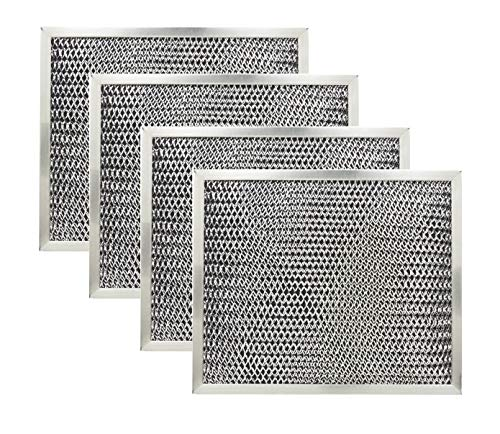 Price comparison product image Range Hood Charcoal Filter for Broan 97007696 6105C 4-Pack