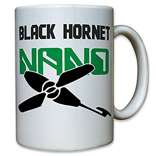 Black Hornet Nano UAV Drone Micro Helicopter Drone model Ferngesteuert Military Army reconnaissance - Coffee Cup Mug