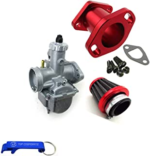 TC-Motor Racing Performance Mikuni VM22-3847 Carburetor Carb Mainfold Intake Pipe Inlet Air Filter For Predator 212cc GX200 196cc Engine Mini Bike Go Kart