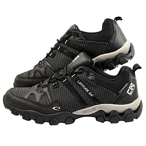 Latitude 64 Chain Wear T-Link Disc Golf Shoe - Black/Black -...