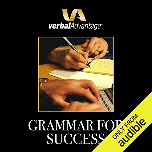Grammar for Success audiobook cover art