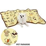 ペットパラダイス ディズニー くまのプーさん コミック ブランケット 毛布 (90×60cm)