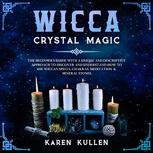 Page de couverture de Wicca Crystal Magic