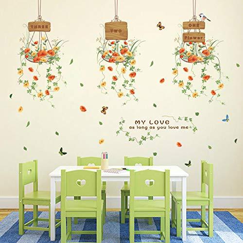 Wandaufkleber abnehmbare kinderzimmer wohnzimmer schlafzimmer sofa hintergrund wand fensterbank glas schöne frische